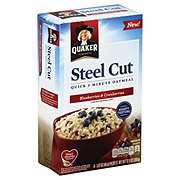 Quaker Steel Cut Quick 3 Minute Blueberry Cranberry Oatmeal