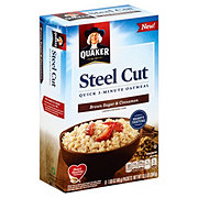 Quaker Steel Cut Quick 3 Minute Brown Sugar & Cinnamon