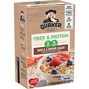 Quaker Weight Control Maple and Brown Sugar Instant Oatmeal Packets
