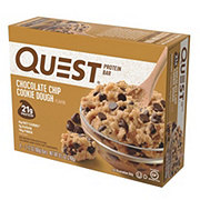 Quest Chocolate Chip Cookie Dough Protein Bars