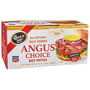 Quick' N Eat Angus Choice Beef Patties