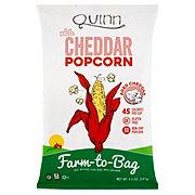 Quinn Popcorn White Cheddar