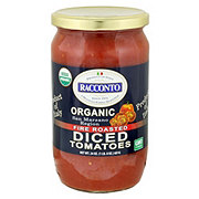 Racconto Organic Fire Roasted Diced Tomatoes