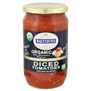 Racconto Organic Roasted Garlic Diced Tomatoes