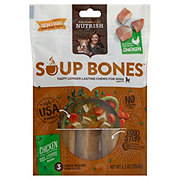 Rachael Ray Nutrish Chicken & Veggies Flavor Soup Bones Dog Treats