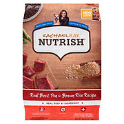 Rachael Ray Nutrish Natural Dry Dog Food, Beef and Brown Rice Recipe
