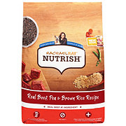 Rachael Ray Nutrish Real Beef and Brown Rice Recipe Natural Dry Dog Food