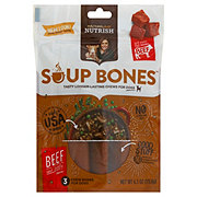 Rachael Ray Nutrish Soup Bones Dog Treats Beef & Barley Flavor