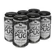 Rahr & Sons Ugly Pug Black Lager  Beer 12 oz  Cans