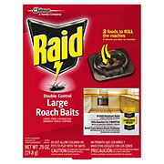 Raid Double Control Small Roach Baits