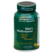 Rainbow Light Certified Organics Men's Multivitamin Vegetarian Capsules