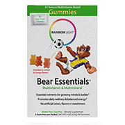 Rainbow Light Gummy Bear Essentials Multivitamin And Multimineral Packets