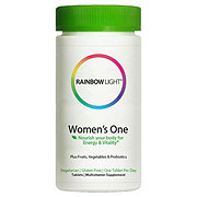 Rainbow Light Just Once Women's One Food-Based Multivitamin Tablets