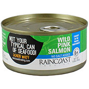 Raincoast Trading Wild Pink Salmon No Salt