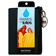 Raines by Totes Adult Poncho, Assorted Colors