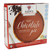 Raised Natural Decadence Gluten Free Chocolate Creamless Pie