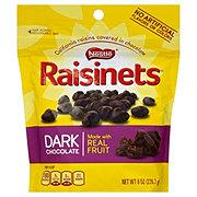 Raisinets Dark Chocolate Covered Raisins Stand-up Bag