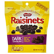 Raisinets Dark Chocolate Covered Rasins, Stand-up Bag