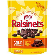 Raisinets Milk Chocolate California Raisins Stand-up Bag