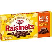 Raisinets Milk Chocolate Covered California Raisins Theatre Box