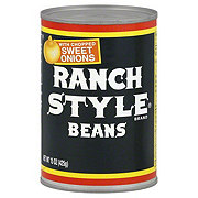 Ranch Style Beans with Chopped Sweet Onions