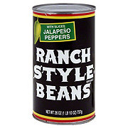 Ranch Style Beans with Sliced Jalapeno Peppers