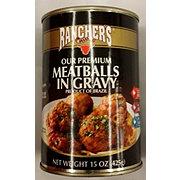 Ranchers Brand Premium Meatballs in Gravy