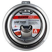 Range Pro Style A Electric Chrome Drip Pans
