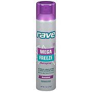 Rave Mega Freeze Hair Spray