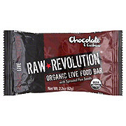 Raw Revolution Chocolate and Cashew Organic Live Food Bar