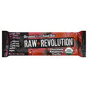 Raw Revolution Chocolate Raspberry Truffle Organic Live Food Bar