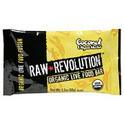 Raw Revolution Coconut and Agave Nectar Organic Live Food Bar
