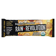 Raw Revolution Golden Cashew Organic Live Food Bar