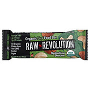 Raw Revolution Spirulina Dream Organic Live Food Bar