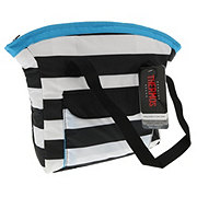 Raya Blue Striped Lunch Tote