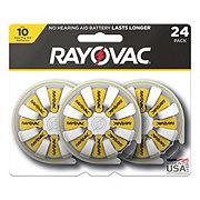 Rayovac Hearing Aid Size 10 Batteries