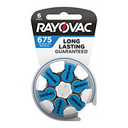 Rayovac Hearing Aid Size 675 Batteries