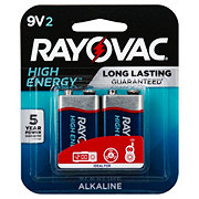 Rayovac High Energy 9 Volt Batteries