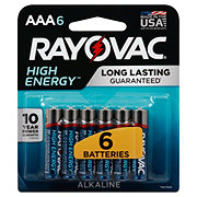 Rayovac High Energy AAA Batteries