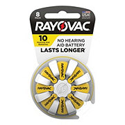 Rayovac Size 10 Hearing Aid Batteries