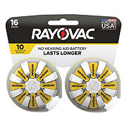 Rayovac Size 10 Hearing Aid Value Pack Batteries