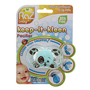 Razbaby Keep-it-Kleen Pacifier, Assorted Colors