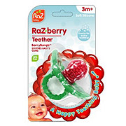 Razbaby Raz-Berry Teether, Assorted Colors