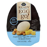 READY EGG go! Hard-boiled Egg Go Cashews & Gouda Cheese