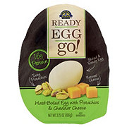 READY EGG go! Hard-boiled Egg with Pistachios & Cheddar Cheese