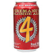 Real Ale Firemans #4 Blonde Ale Beer Can