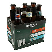 Real Ale Sampler Six Pack Beer 12 oz  Bottles