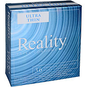 Reality Ultra Thin Lubricated Condoms