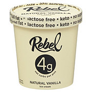 Rebel Vanilla Ice Cream