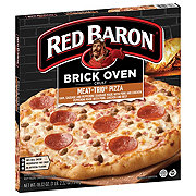 Red Baron Brick Oven Crust Meat Trio Pizza